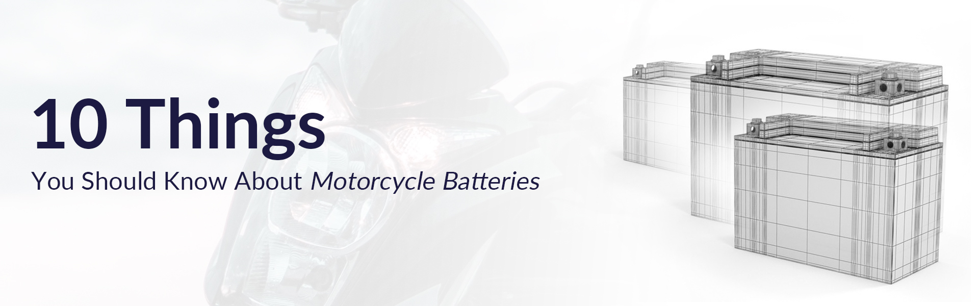 10 things you should about motorcycle battery