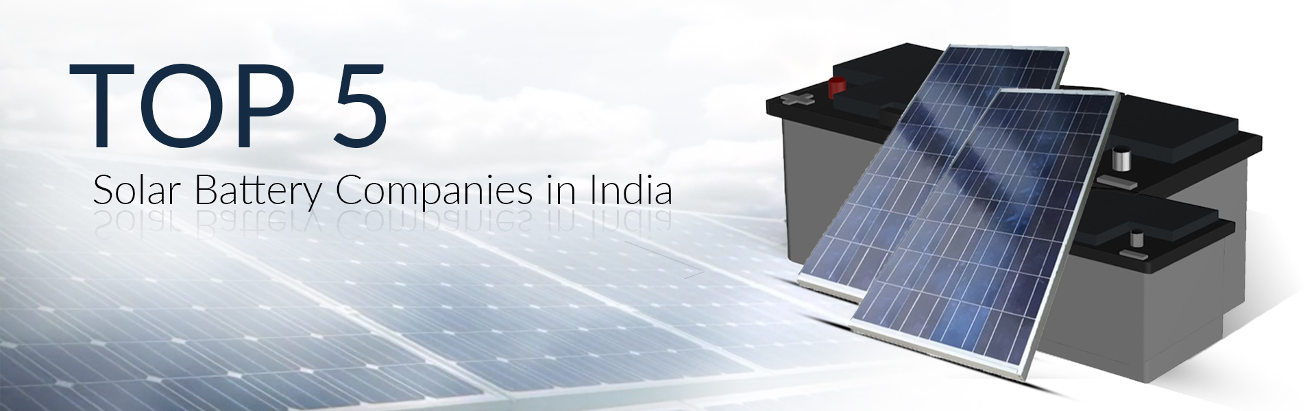 solar battery companies in india
