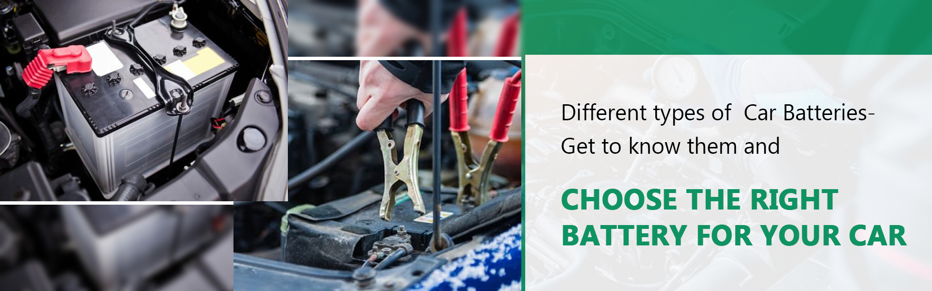 different types of car batteries