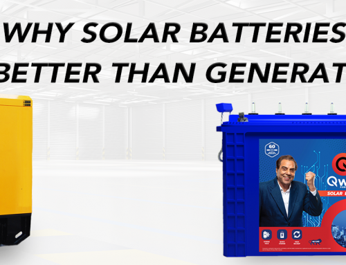 Why Solar Batteries Are Better Than Generators?