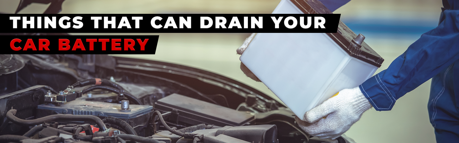 drain your car battery