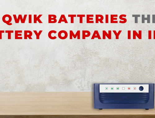 What Makes Qwik Batteries the Leading Inverter Battery Company in India