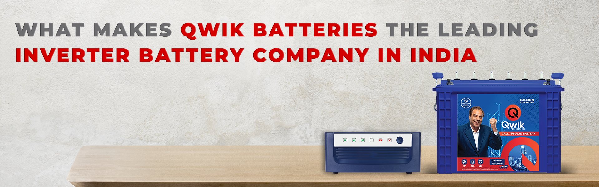 Inverter Battery Company in India